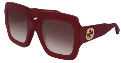 Gucci GG0178S-005 Red Shiny Red - Red
