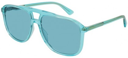 Gucci GG0262S-003 Light Blue - Transparent Light Blue Light Blue