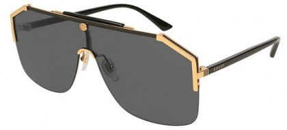 Gucci GG0291S-001 Gold Black - Black Grey