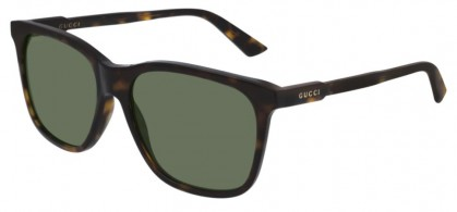 Gucci GG0495S-002 Havana Dark Havana - Green