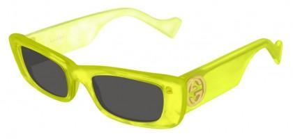 Gucci GG0516S-004 Yellow White Yellow - Grey