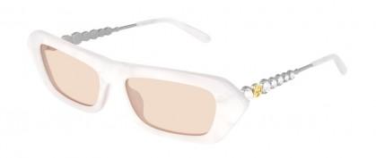 Gucci GG0642S-004 White Silver - Pink Shiny