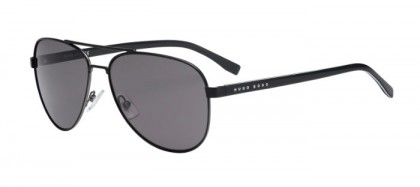 Hugo Boss BOSS 0761/S QIL (Y1) Matte Black - Grey