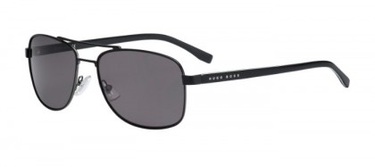 Hugo Boss BOSS 0762/S QIL (Y1) Matte Black - Grey