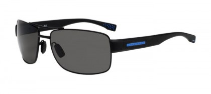 Hugo Boss BOSS 0801/S XQ4 (6C) Matte Black - Grey Polarized