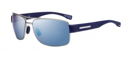 Hugo Boss BOSS 0801/S Z0Q (7N) Dark Ruthenium Blue - Grey Blue Mirror Polarized