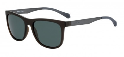 Hugo Boss BOSS 0868/S 05A/85 Black Ruthenium - Green