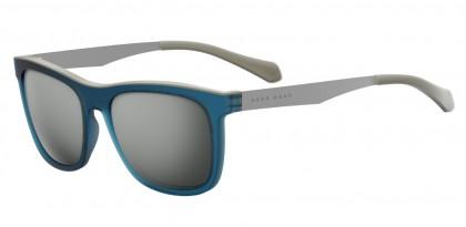 Hugo Boss BOSS 0868/S 05E/T4 Blue Matte Silver - Grey Silver