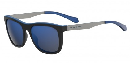 Hugo Boss BOSS 0868/S 0N2/XT Black Matte Silver - Blue Grey