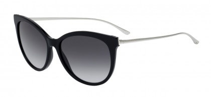 Hugo Boss BOSS 0892/S RHP/9O Black Light Gold - Grey Shaded