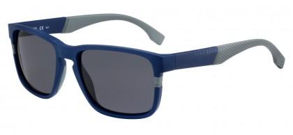 Hugo Boss BOSS 0916/S 1X4/IR Matte Blue Grey - Grey Brown