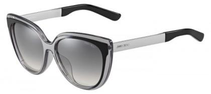 Jimmy Choo CINDY/F/S 1M0 (IC) Grey Ruthenium Black - Grey Gradient Mirror