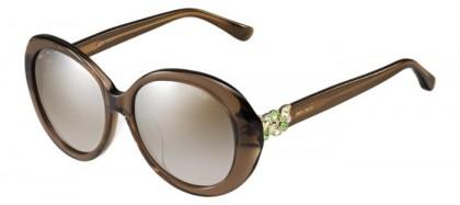 Jimmy Choo CLEM/F/S A2K (NQ) Brown Transparent - Brown Gradient Mirror