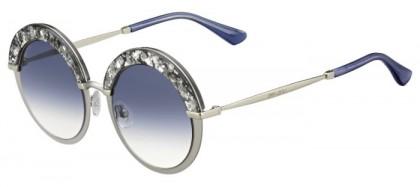 Jimmy Choo GOTHA/S 5RL (KC) Silver - Blue Shaded