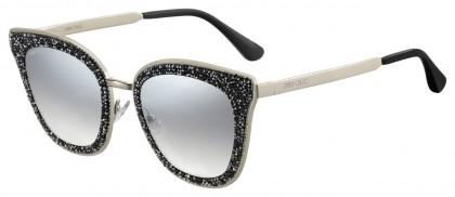 Jimmy Choo LIZZY/S FT3 (IC) Gray Gold - Gray Gradient Mirror