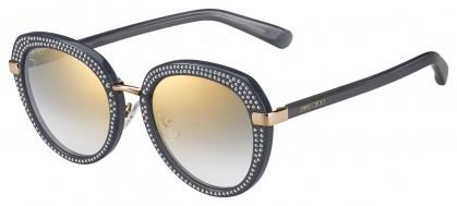 Jimmy Choo MORI/S FT3 (FQ) Gray Gold - Gray Gold Gradient Mirror