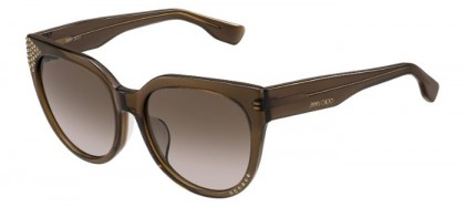 Jimmy Choo OLA/F/S 3M0 (J6) Transparent Brown - Brown Shaded