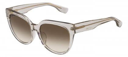 Jimmy Choo OLA/F/S I4J (JD) Transparent Dove Grey - Grey Shaded