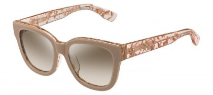 Jimmy Choo OTTI/F/S J42 (NQ) Spotted Nude - Brown Silver Semi Mirror