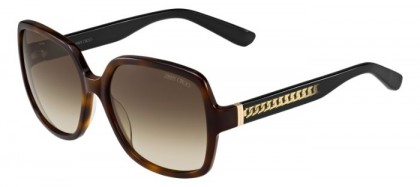 Jimmy Choo PATTY/S 112 (JD) Havana Black Gradient - Brown Gradient