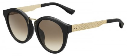 Jimmy Choo PEPY/S QFE (JD) Black Rose Gold - Brown Shaded