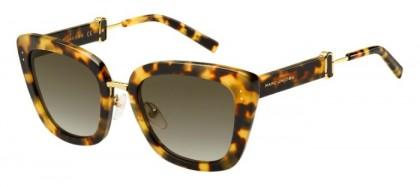 Marc Jacobs MARC 131/S 00F (HA) Blonde Havana - Dark Brown Shaded