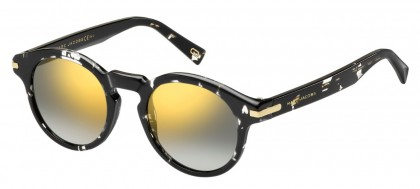 Marc Jacobs MARC 184/S 9WZ/9F Black Marble - Grey Gold Shaded