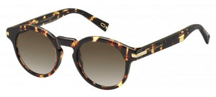 Marc Jacobs MARC 184/S LWP/HA Brown Marble - Brown Shaded