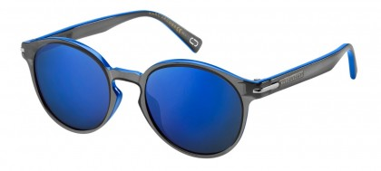 Marc Jacobs MARC 224/S D51/XT Black Blue - Blue Grey Mirror