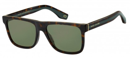 Marc Jacobs MARC 275/S 086/QT Dark Havana - Green