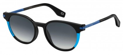 Marc Jacobs MARC 294/S D51 (9O) Black Blue - Gray Gradient