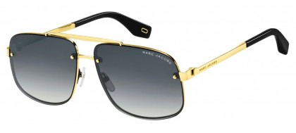 Marc Jacobs MARC 318/S 2M2/9O Gold Gray Black - Grey Gradient