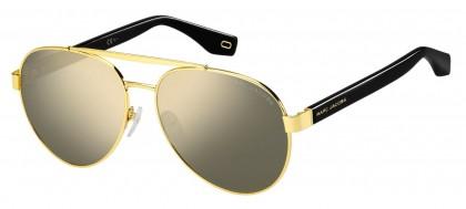 Marc Jacobs MARC 341/S 2M2/UE Black Gold - Grey Gold Mirror