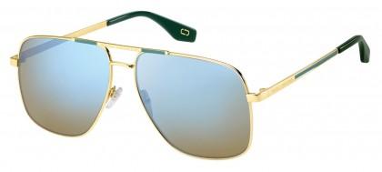 Marc Jacobs MARC 387/S 1ED/3U Gold - Green Brown Mirror