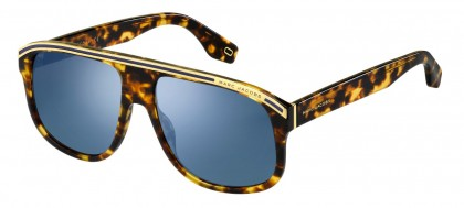 Marc Jacobs MARC 388/S WR9/2Y Brown Havana - Blue Mirror