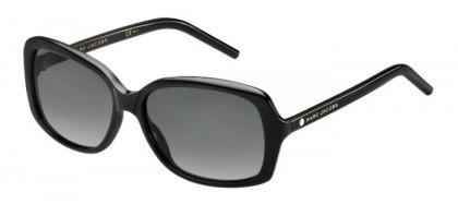 Marc Jacobs MARC 67/S 807 (WJ) Black - Grey Shaded Polarized