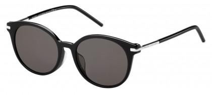 Marc Jacobs MARC 87/F/S CSA (NR) Black Palladium - Brown Grey