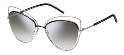 Marc Jacobs MARC 8/S 25K (FU) Ruthenium Black - Grey Shaded Silver Mirror
