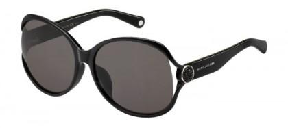 Marc Jacobs MARC 90/F/S D28 (NR) Shiny Black - Brown Grey