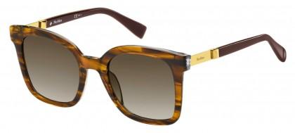 Max Mara MM GEMINI I SX7/HA Striped Brown - Brown Shaded