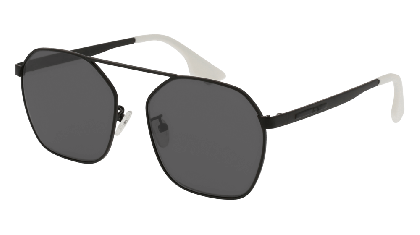 Mcq MQ0076S-002 Black - Grey Matte