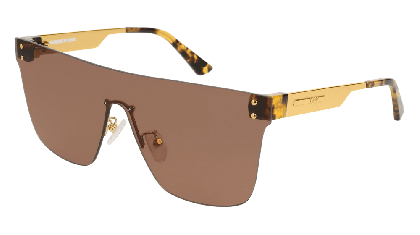 Mcq MQ0131S-002 Brown Gold - Brown Shiny