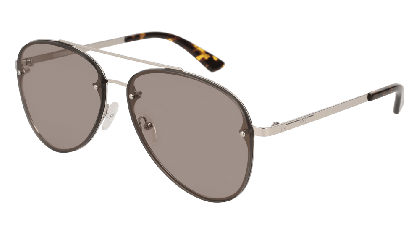 Mcq MQ0136S-004 Silver - Grey Shiny