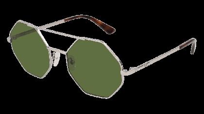 Mcq MQ0139S-004 Silver - Green Shiny