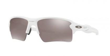 Oakley 0OO9188 FLAK 2.0 XL 918876 Polished White - Prizm Black Polarized