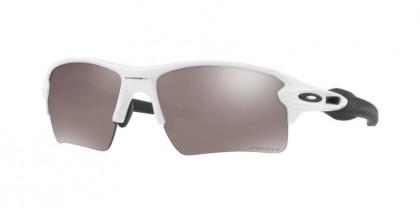 Oakley 0OO9188 FLAK 2.0 XL 918881 Polished White - Prizm Black Polarized