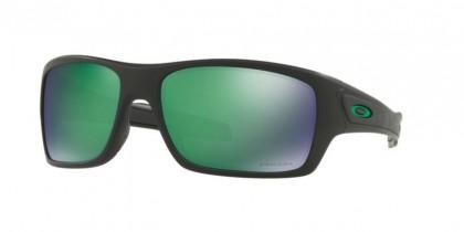 Oakley 0OO9263 TURBINE 926345 Matte Black - Prizm Jade Polarized