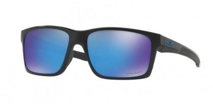Oakley 0OO9264 MAINLINK 926430 Polished Black - Prizm Sapphire