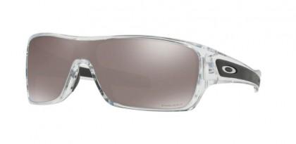 Oakley 0OO9307 TURBINE ROTOR 930716 Polished Clear - Prizm Black Polarized