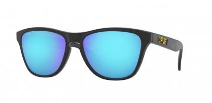 Oakley FROGSKINS XS 0OJ9006 900613 Polished Black - Prizm Sapphire
